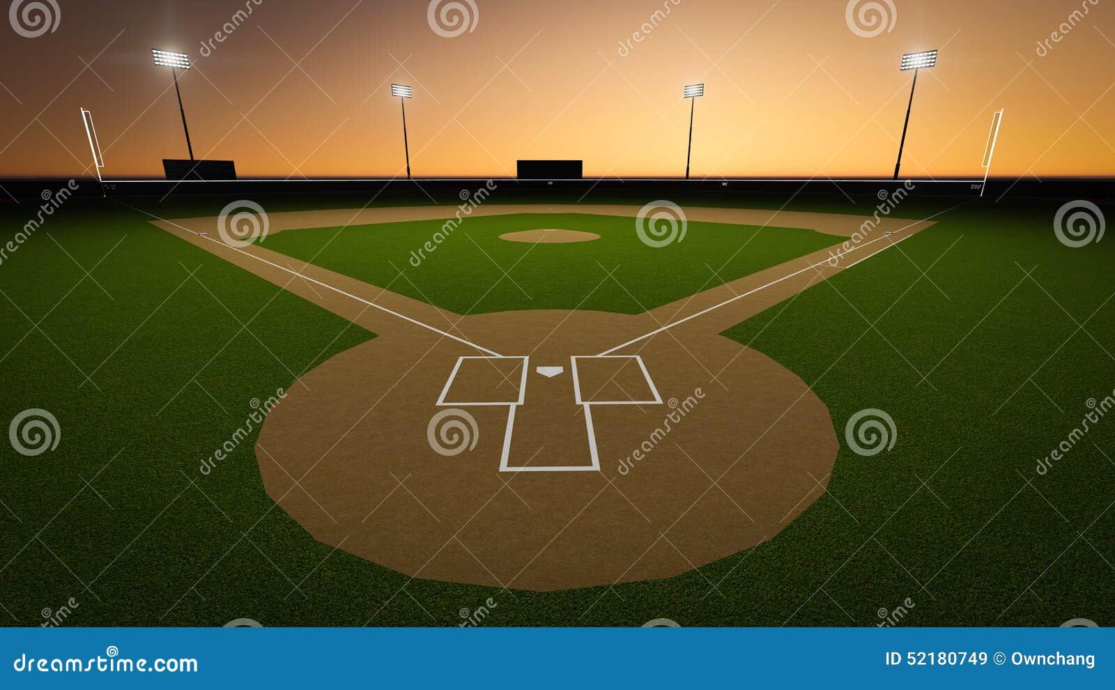 Het Stadion van het honkbal