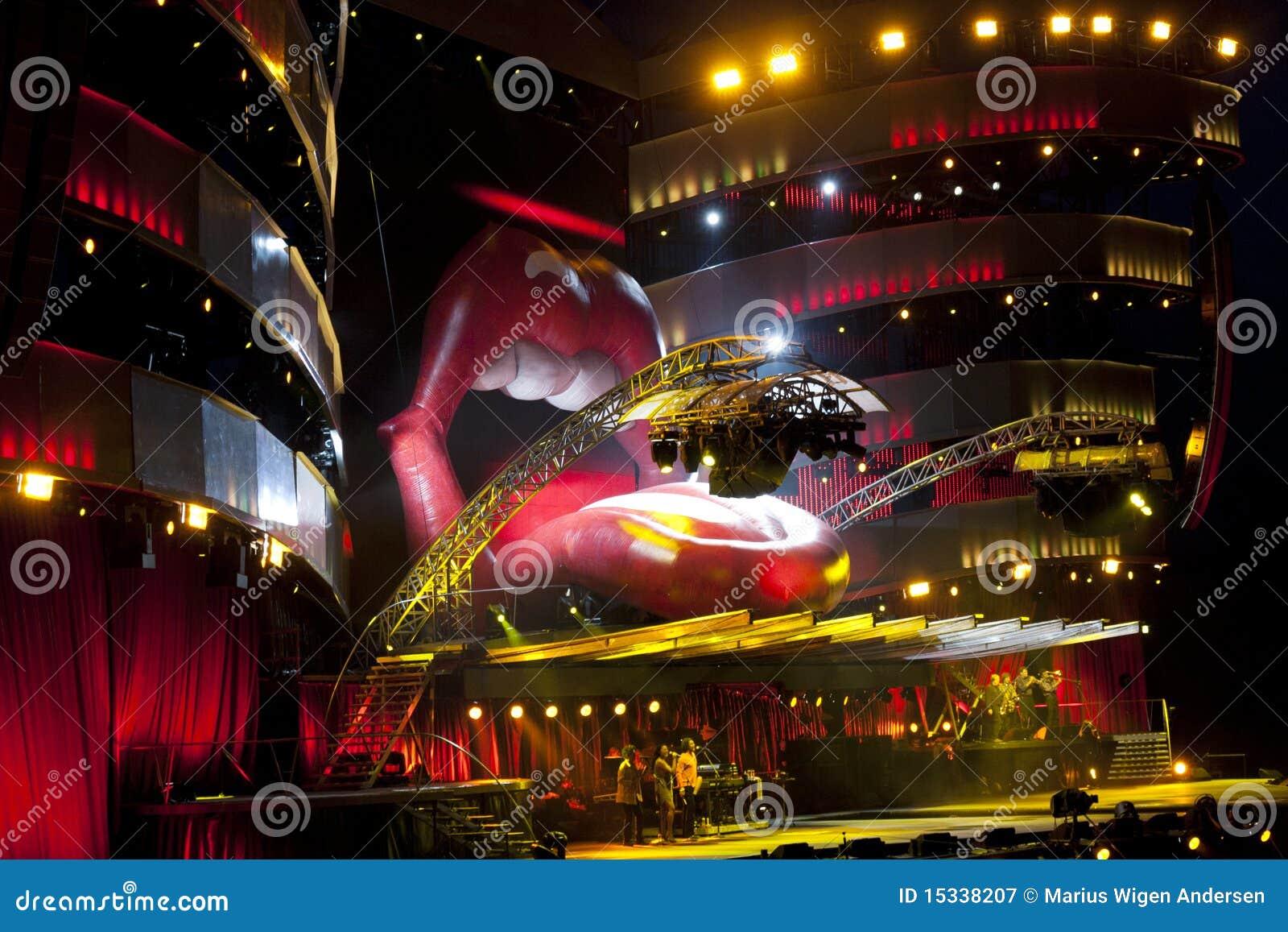 Het stadium van Rolling Stones