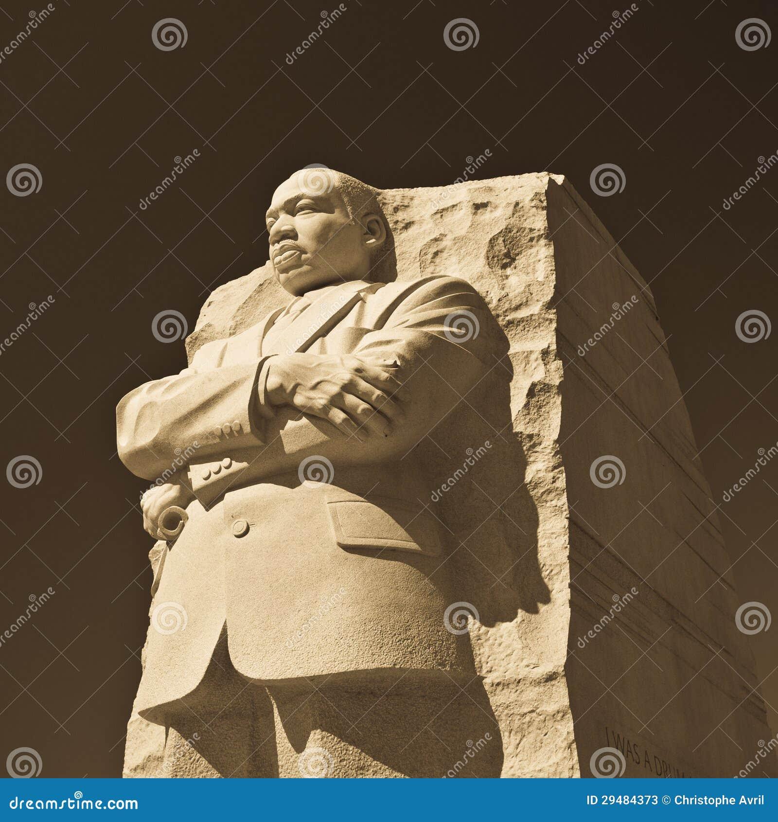 Het Standbeeld van Martin Luther King