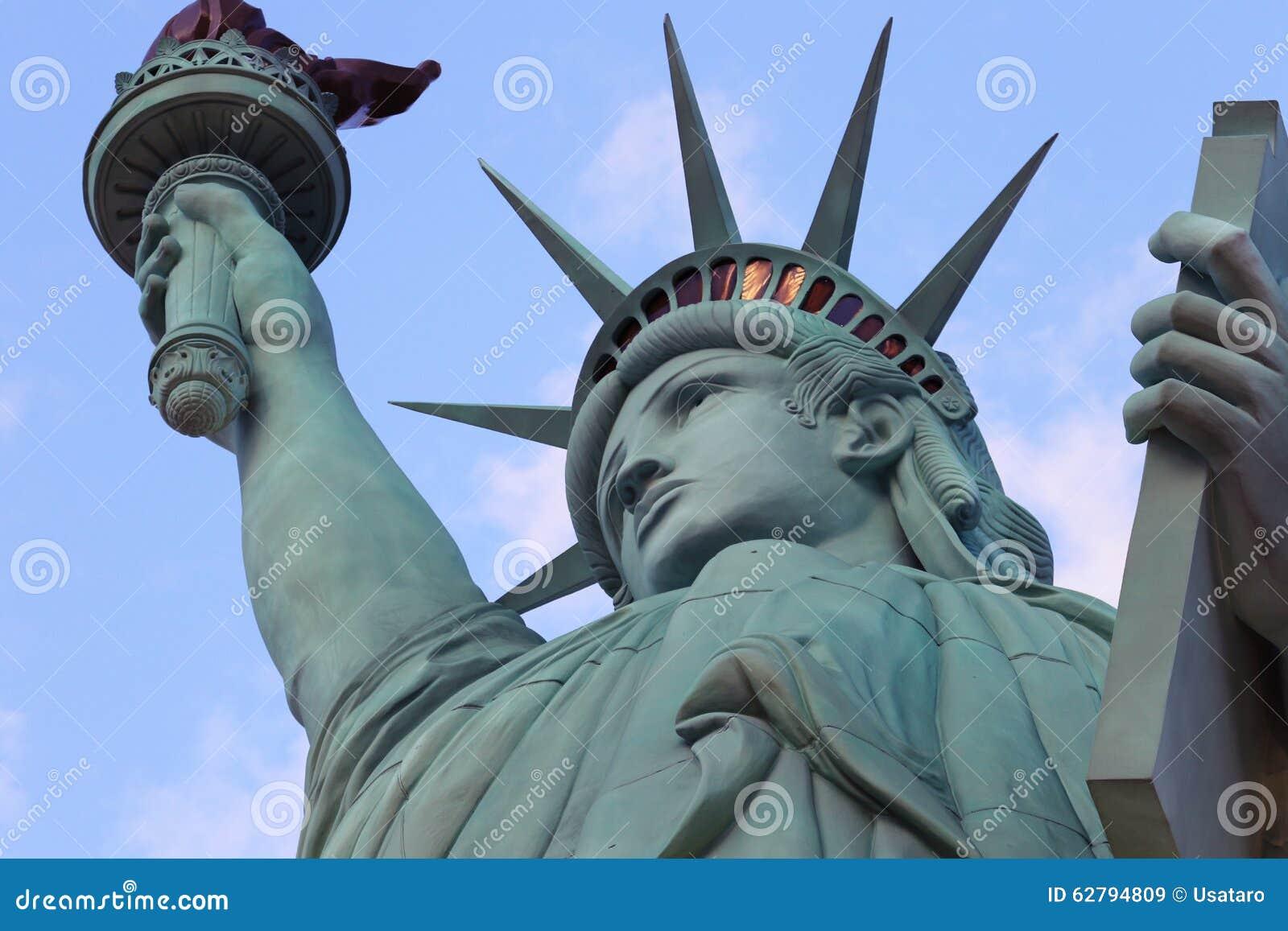 Het Standbeeld van Vrijheid, Amerika, Amerikaans Symbool, Verenigde Staten, New York