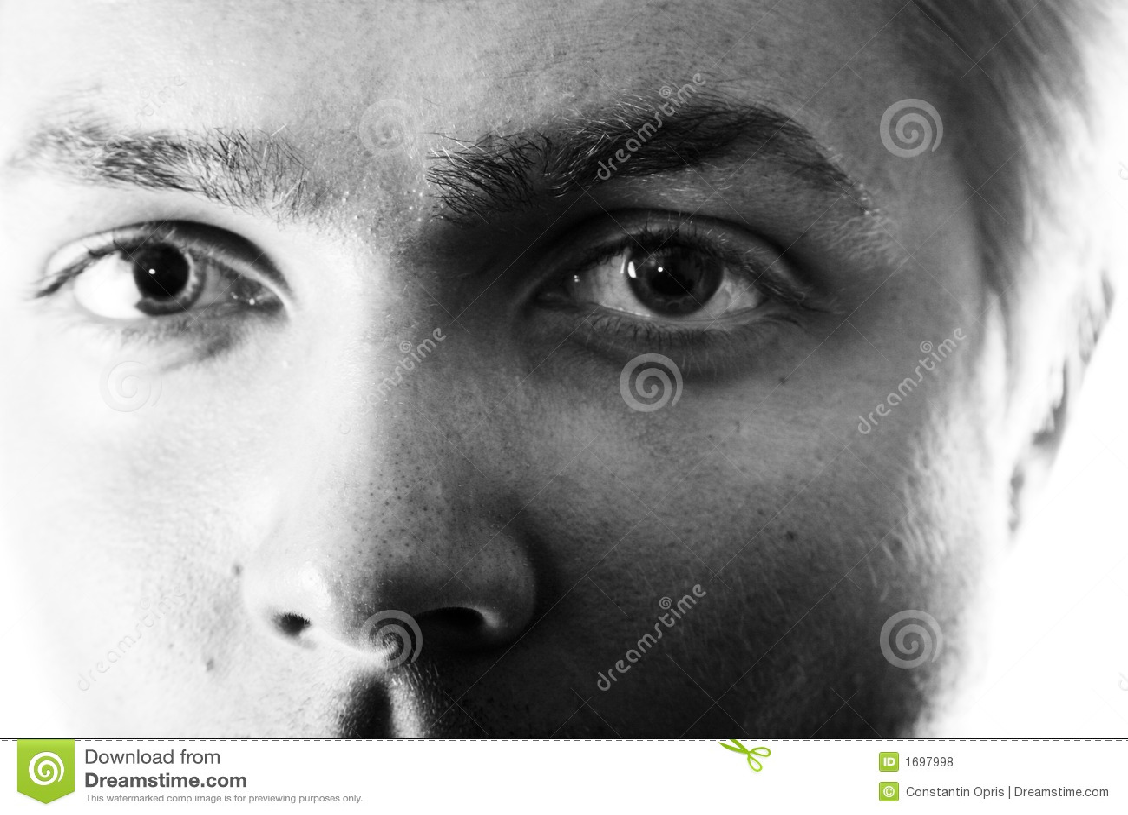 Het staren van ogen