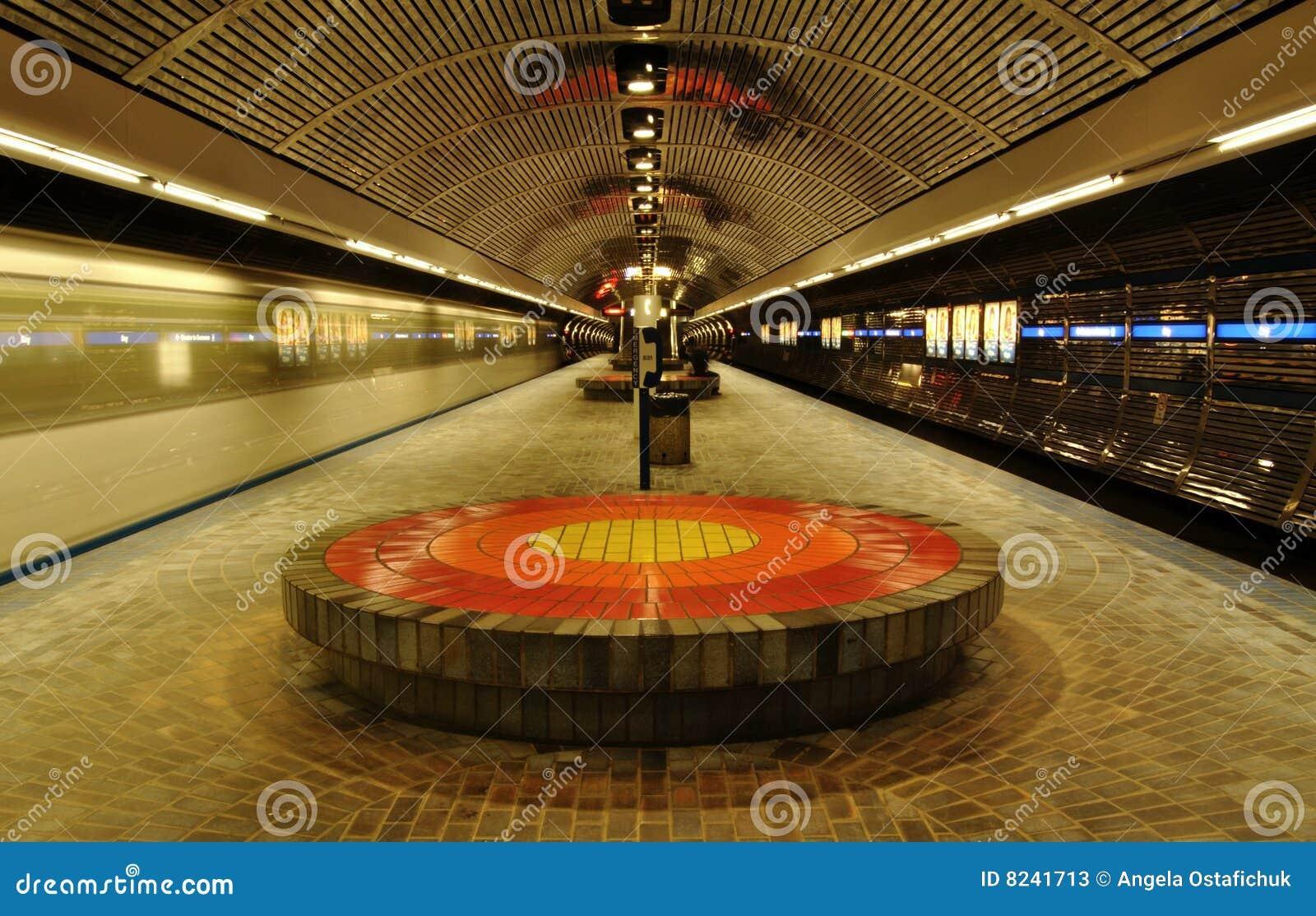 Het station van Edmonton