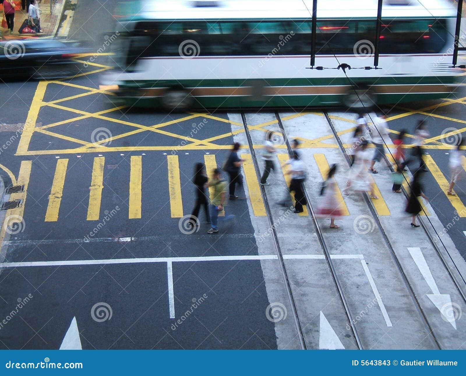 Het stedelijke leven