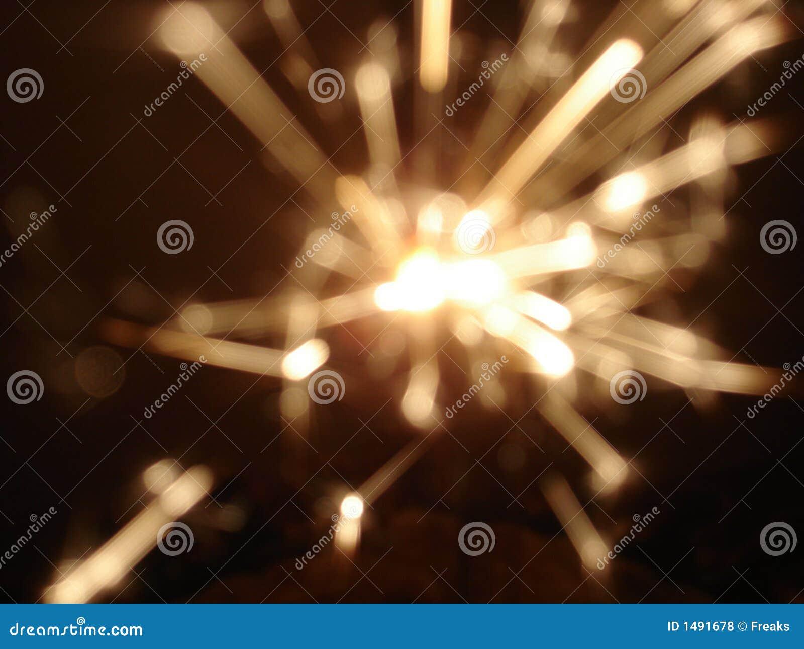 Het Sterretje van het vuurwerk