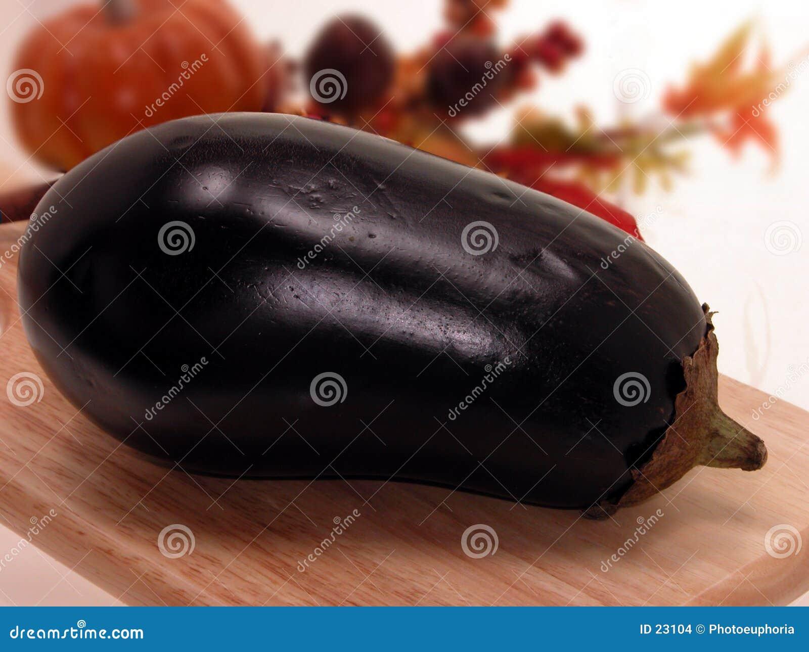 Het Stilleven van de aubergine