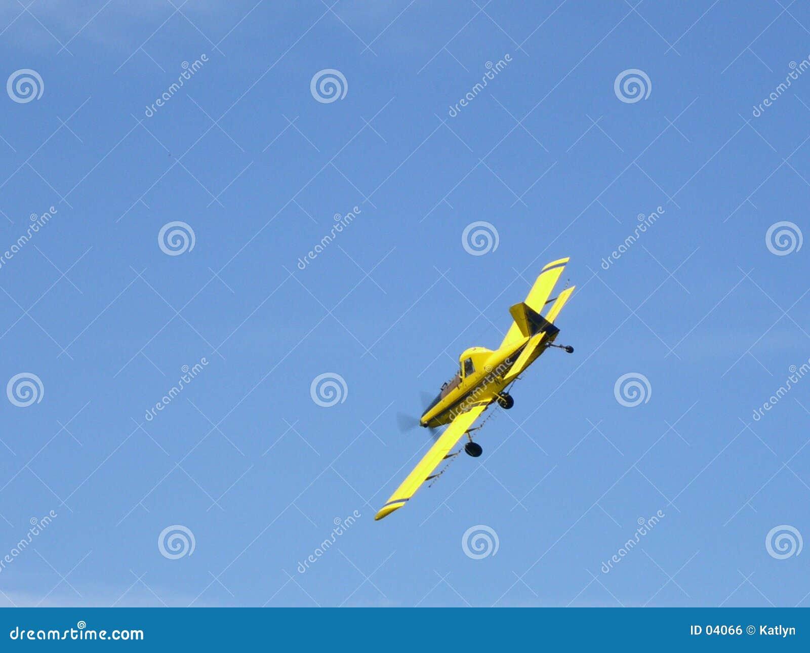 Het Stofdoek van het gewas - Vliegtuig