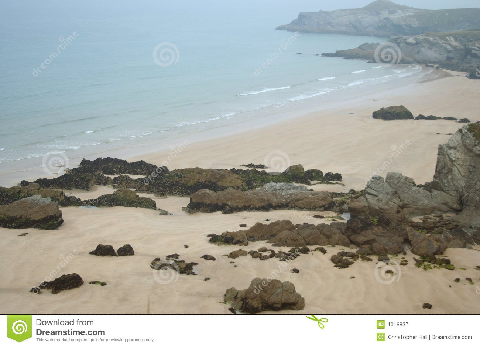 Het Strand van Cornwall