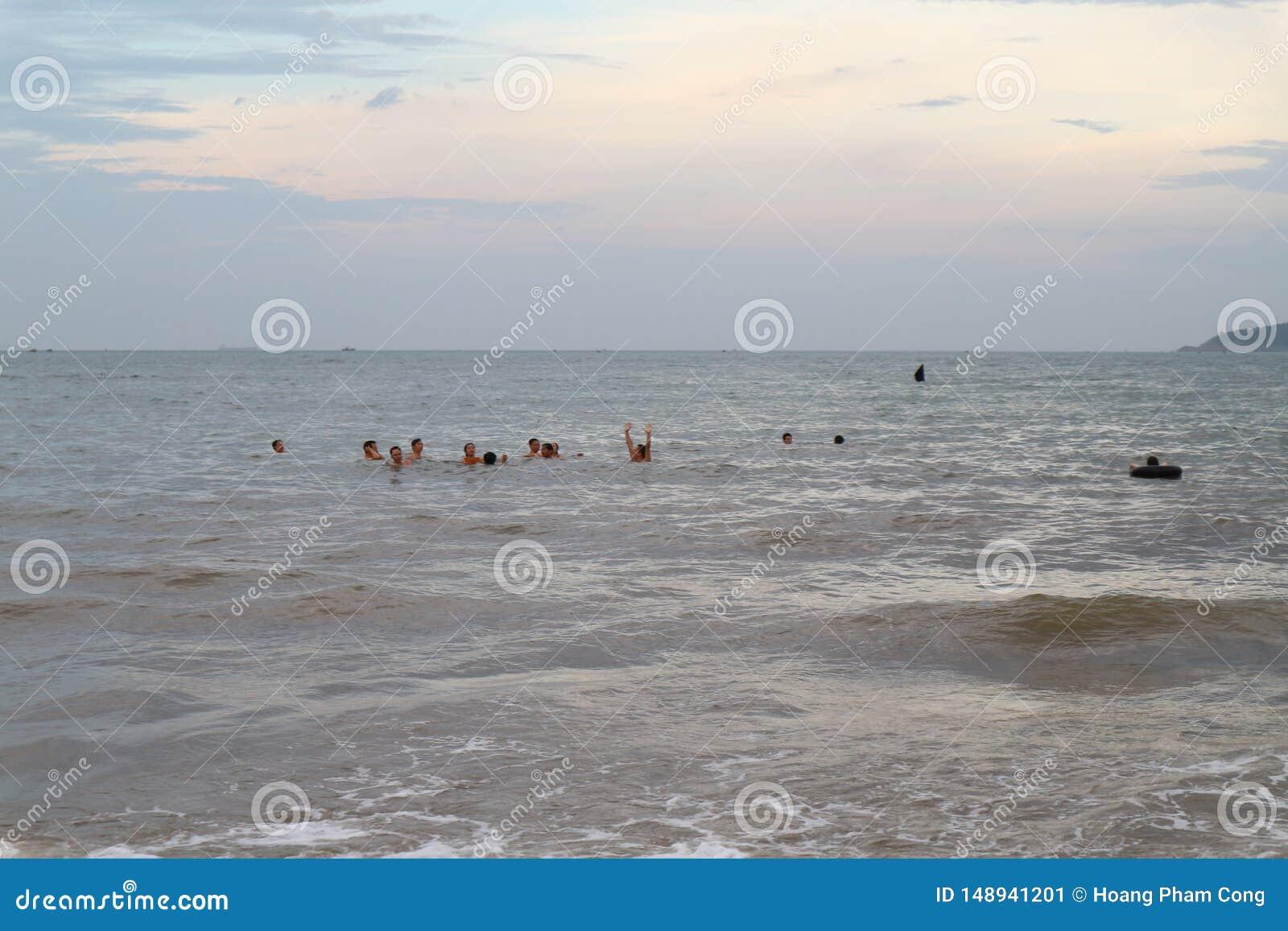 Het Strand van Cualo, Vietnam