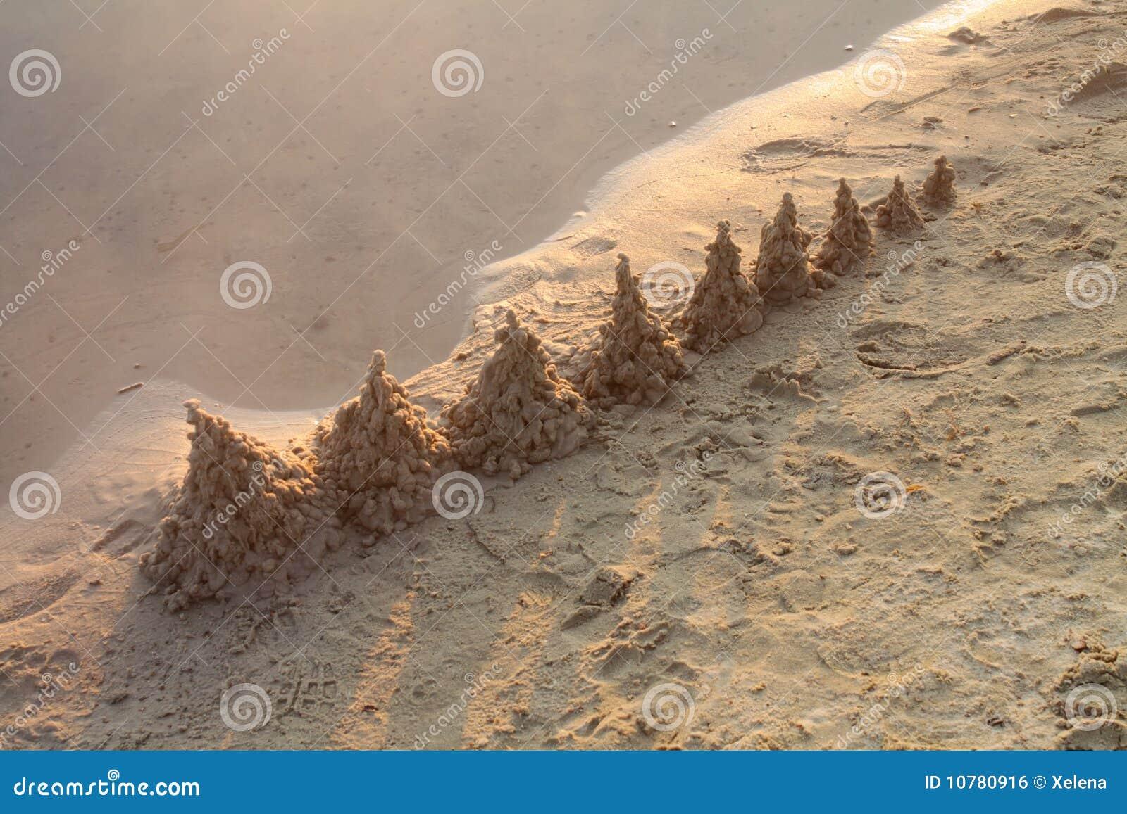 Het strand van de ochtend
