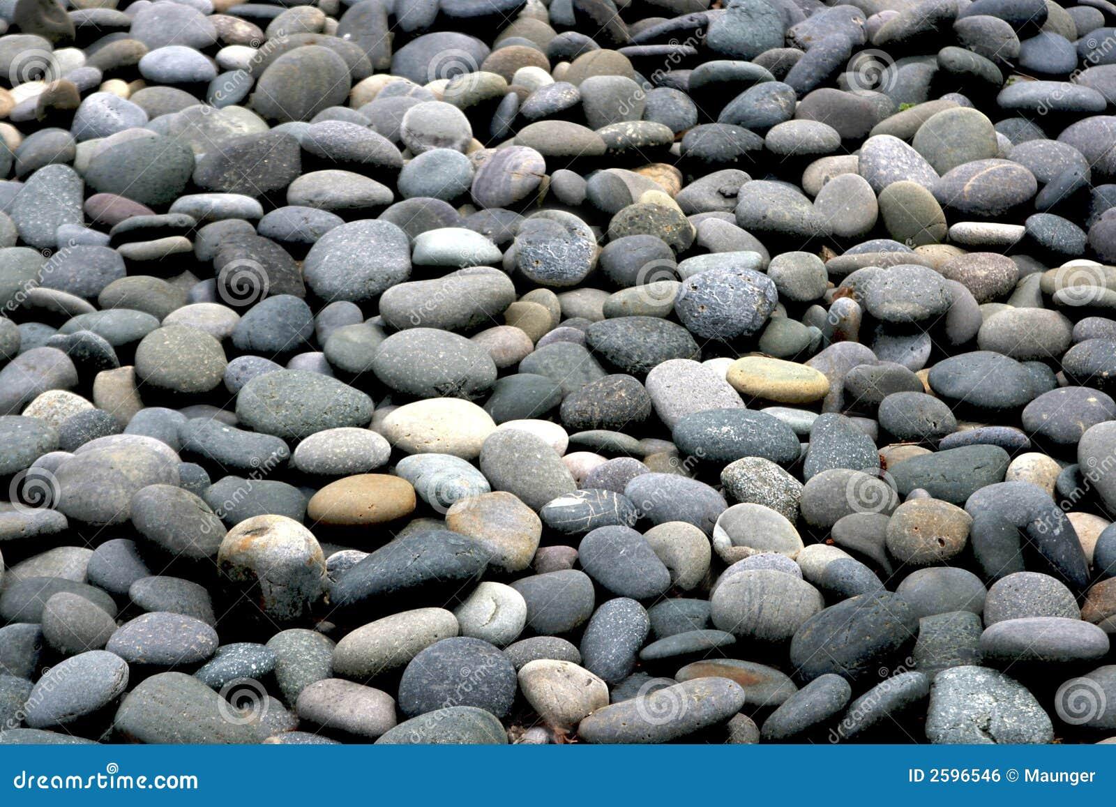 Het strand van de rots