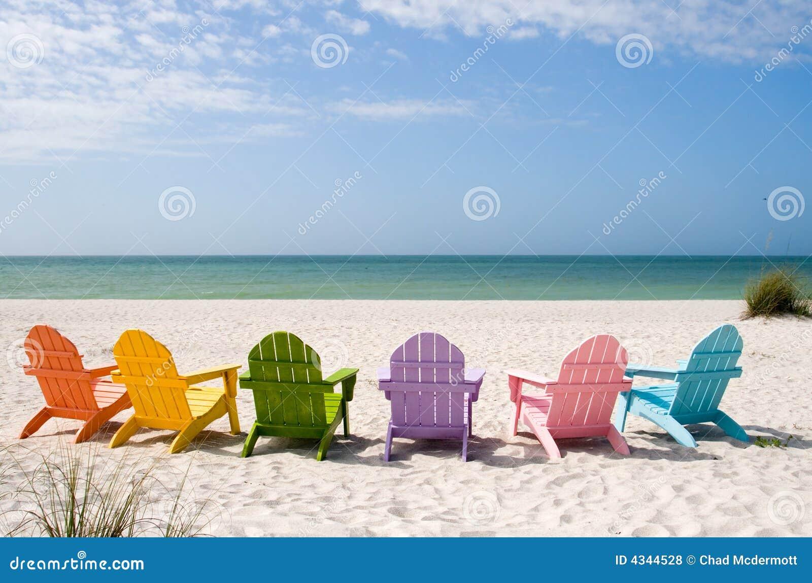 Het Strand van de Vakantie van de zomer