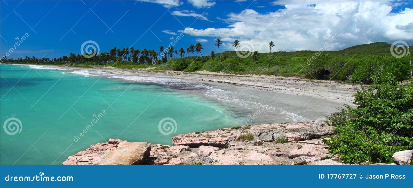 Het Strand van Guanica - Puerto Rico