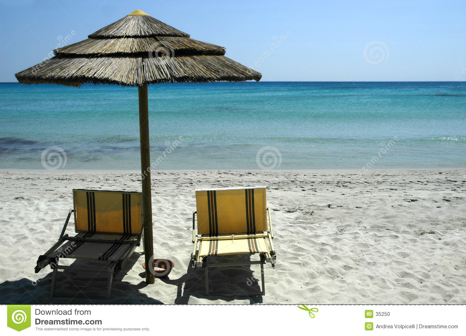 Het strand van het paradijs