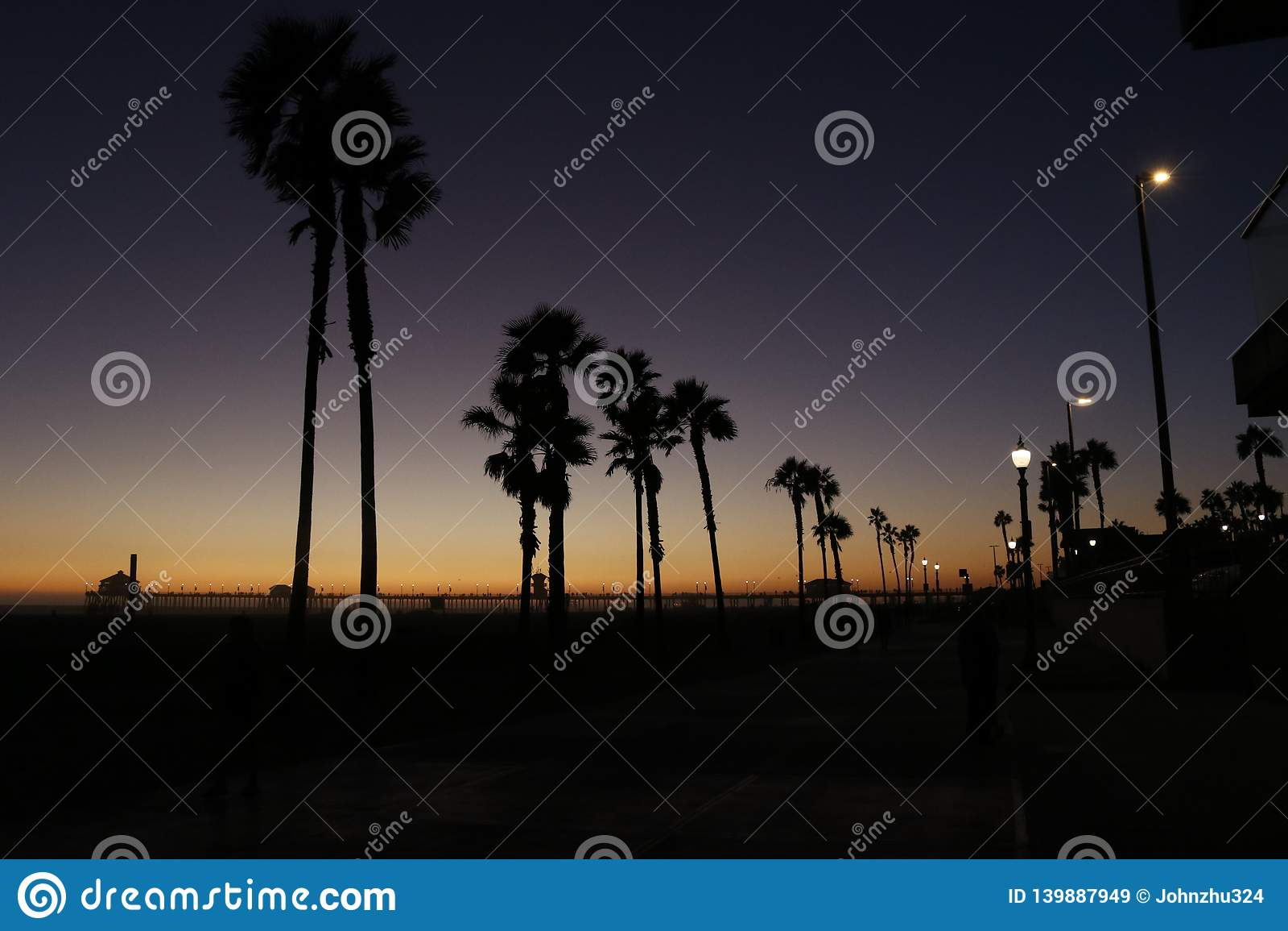 Het Strand van Huntington