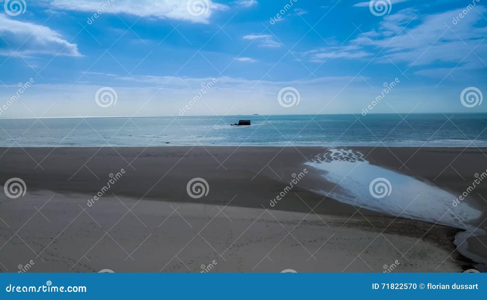 Het strand van le Portel