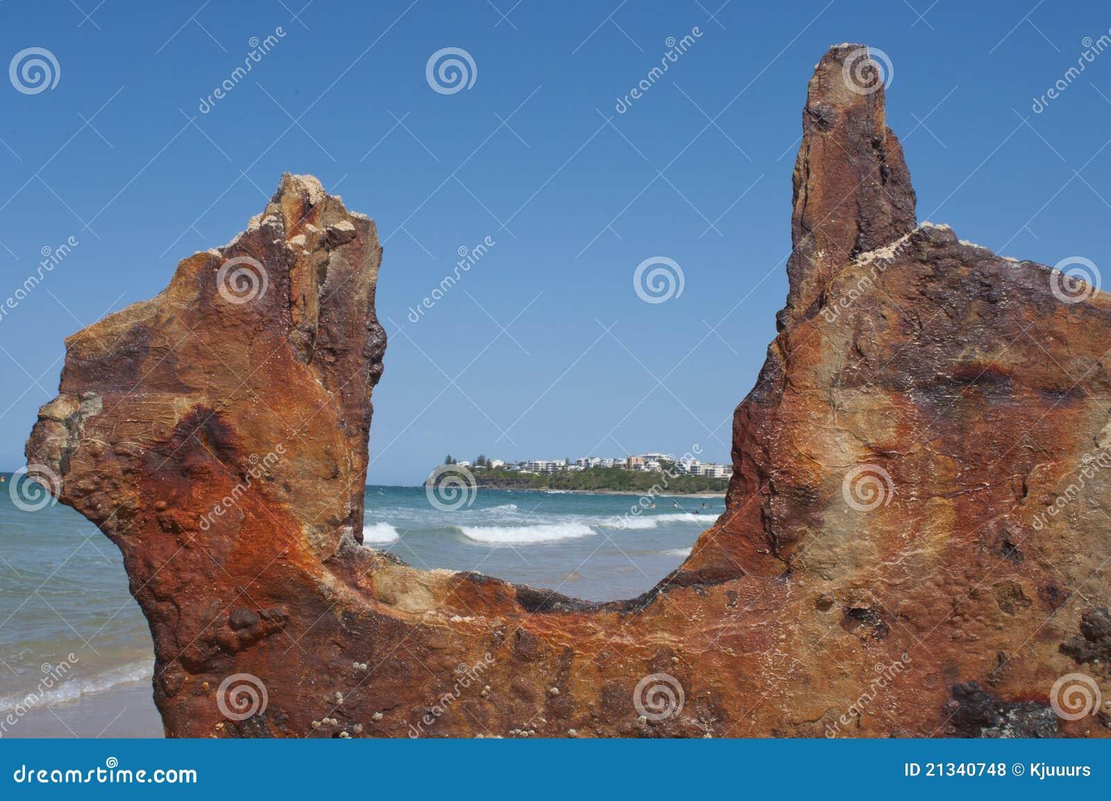 Het Strand van Moffat, Australië