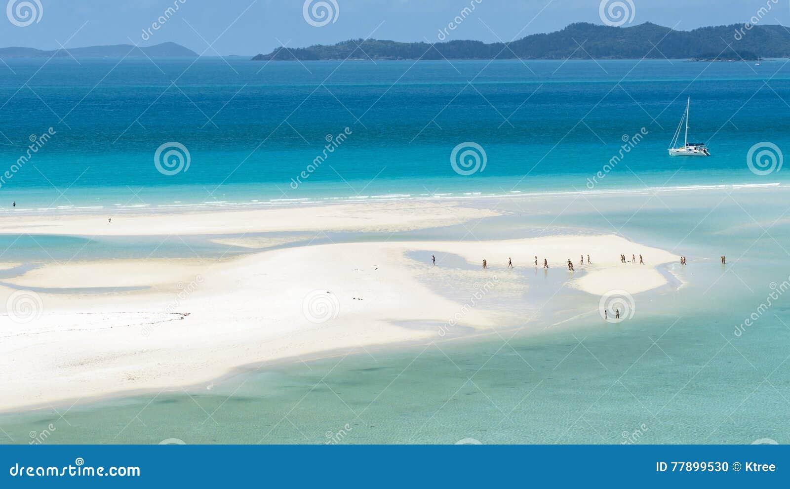 Het Strand van Whitehaven, Australië