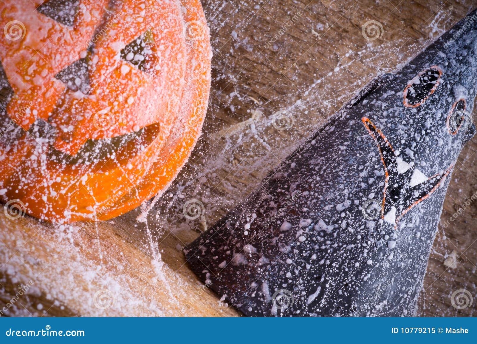 Het stuk speelgoed van de pompoen oranje Halloween partij