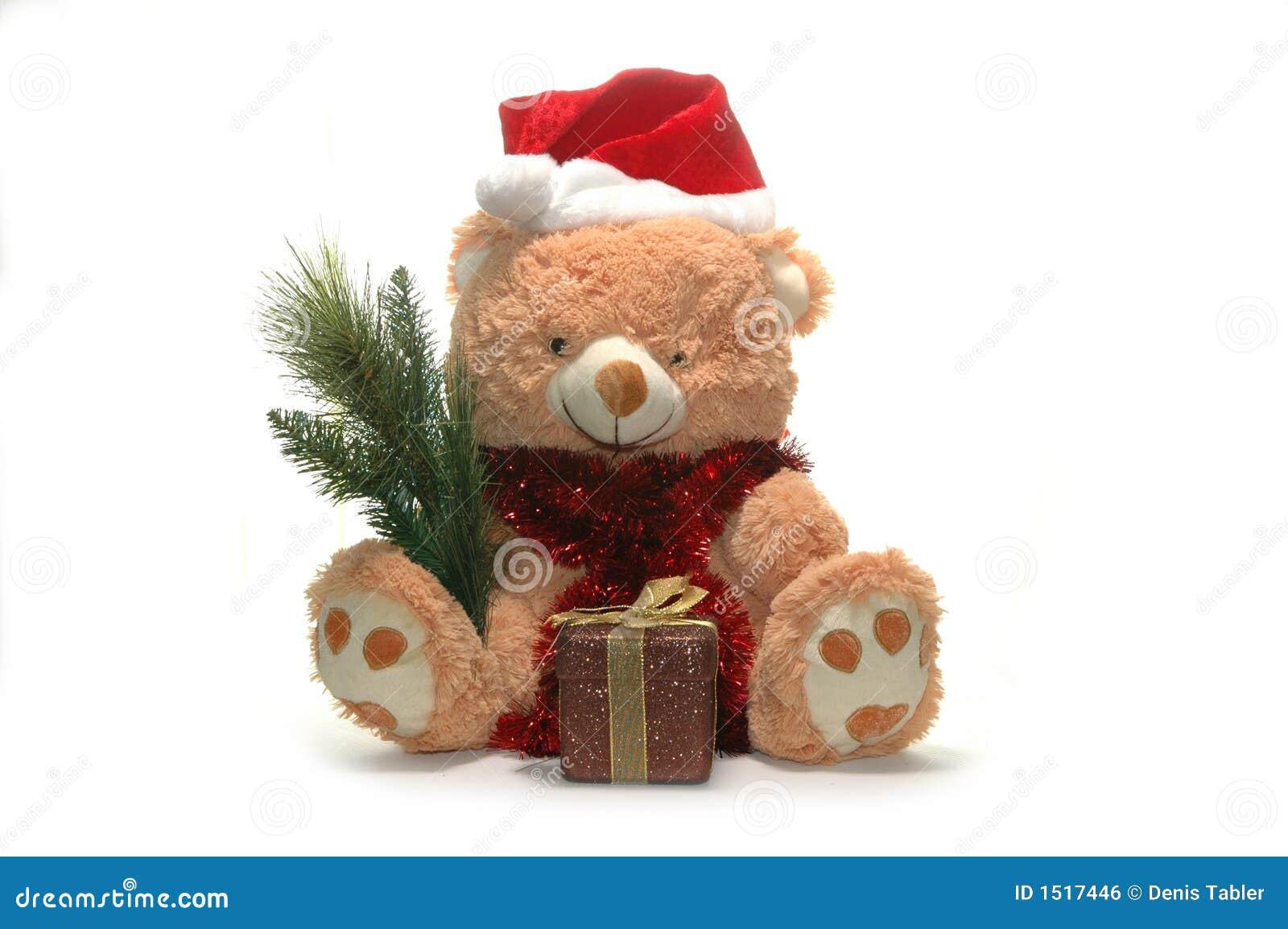 Het stuk speelgoed van Kerstmis draagt