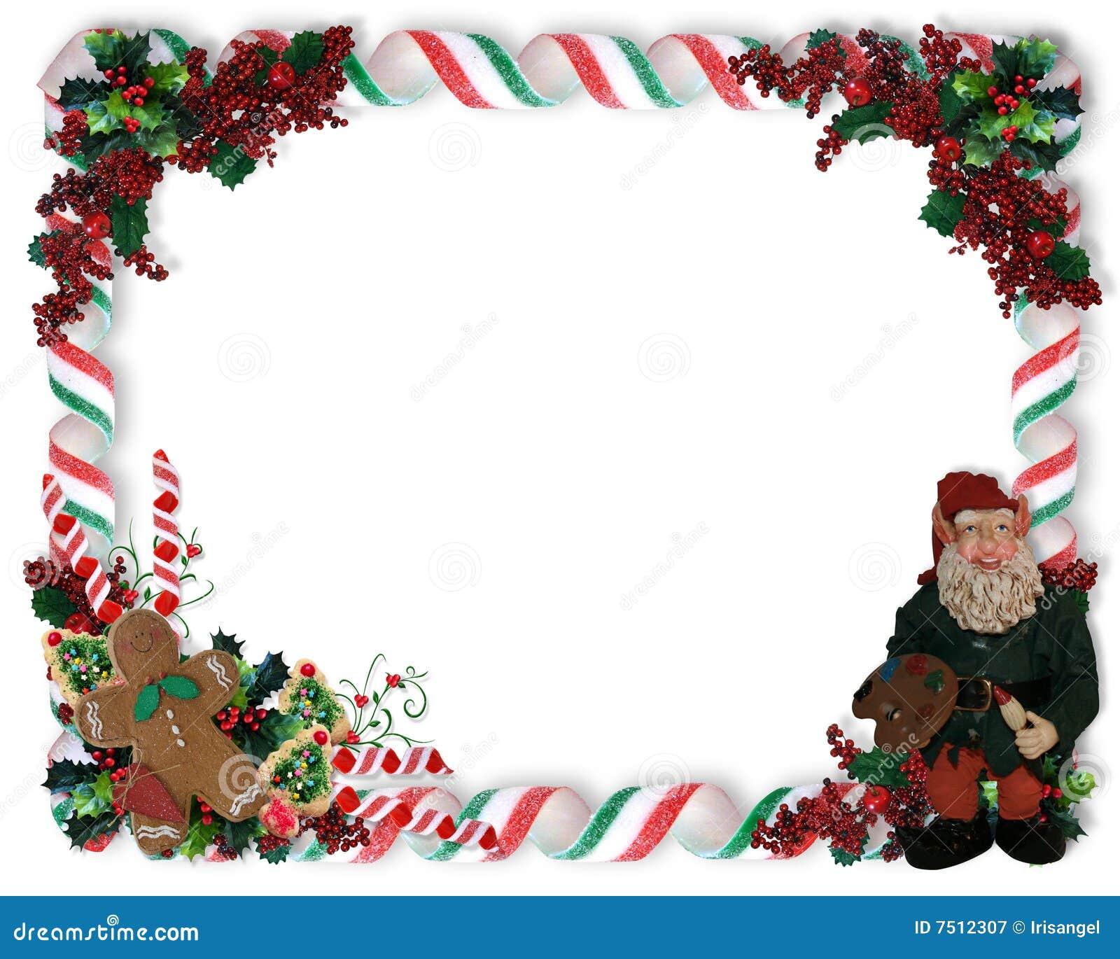 Het suikergoed en het Elf van de Grens van Kerstmis