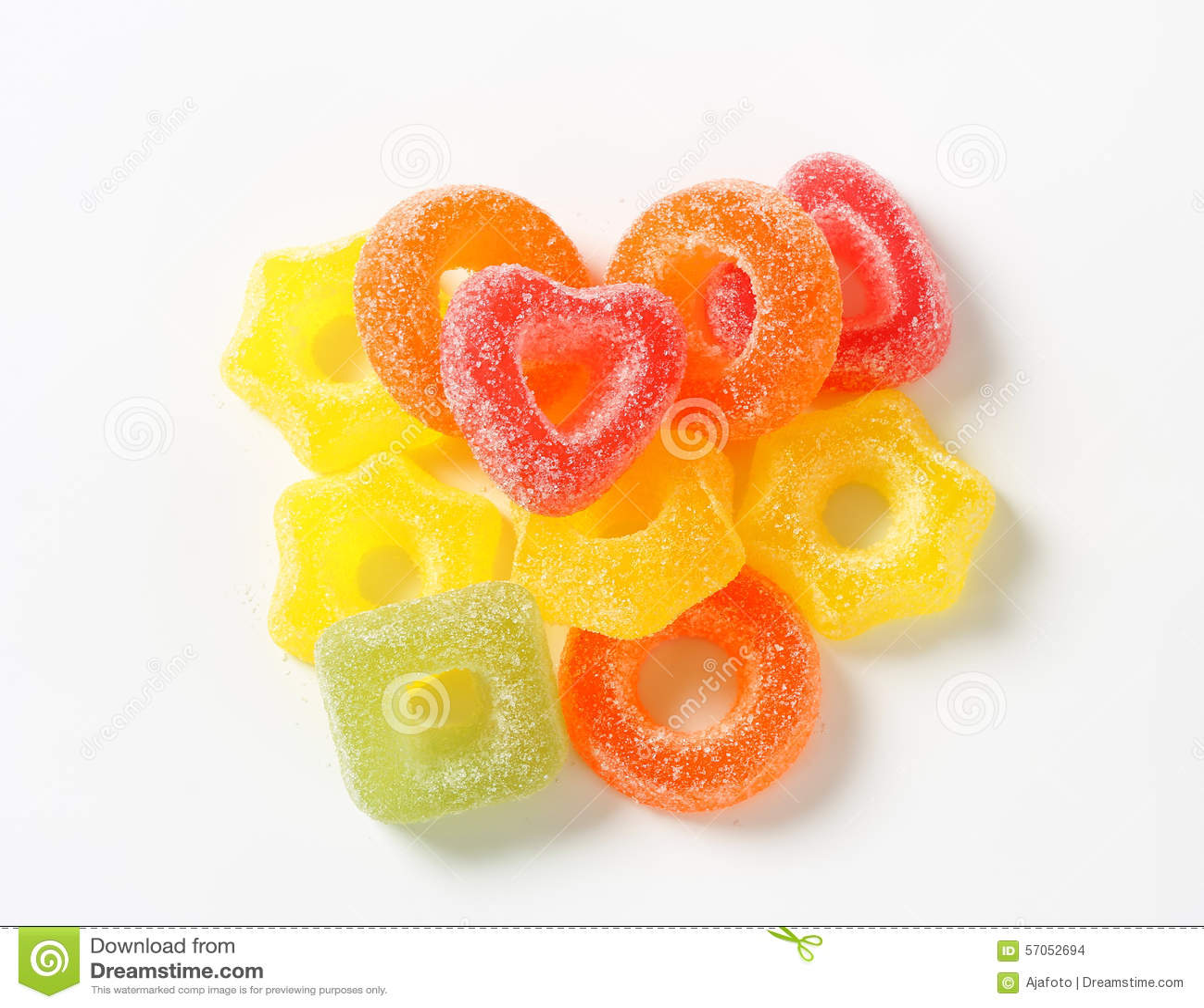 Het suikergoed van de fruitgelei