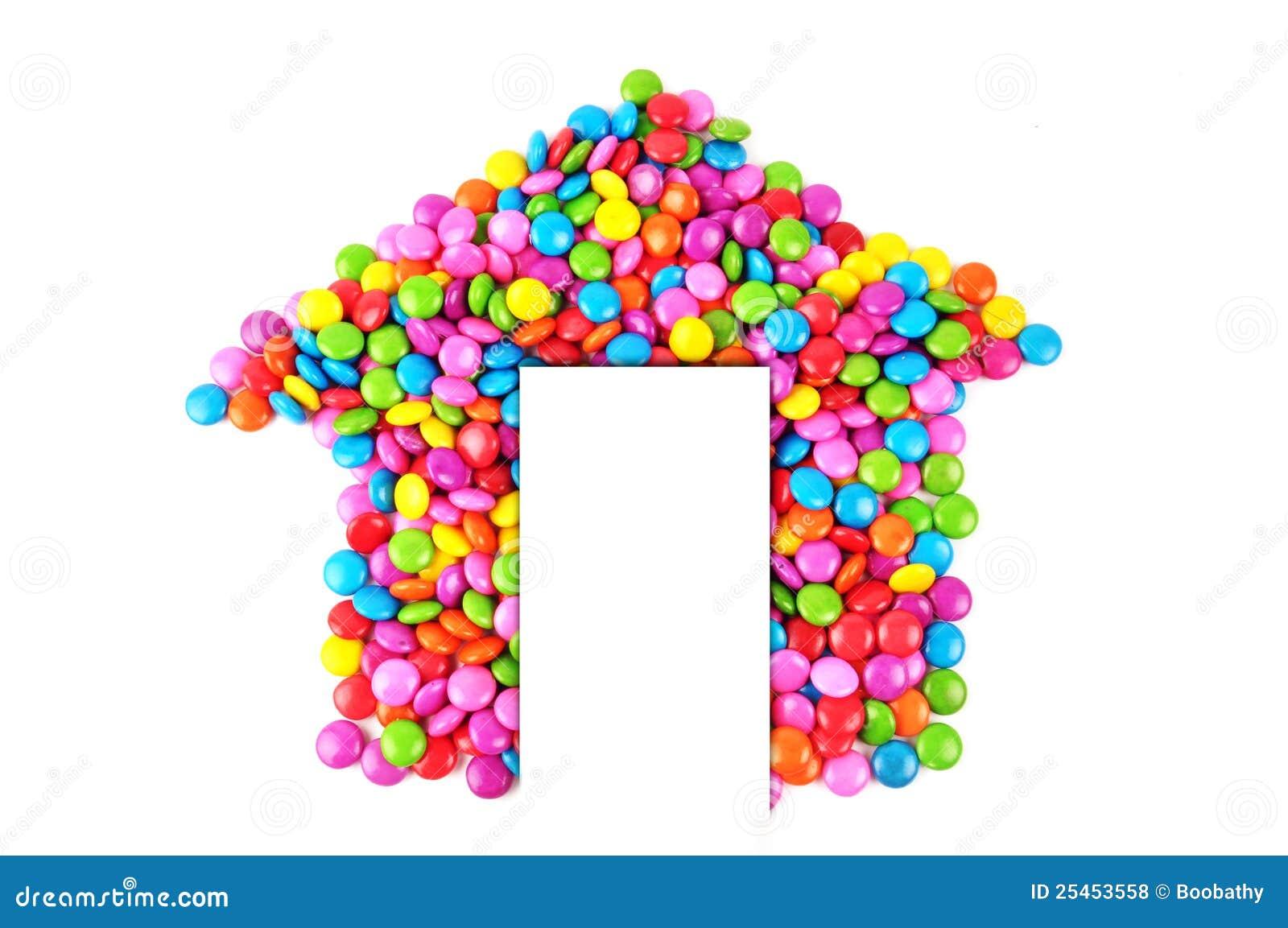 Het suikergoed van het huis