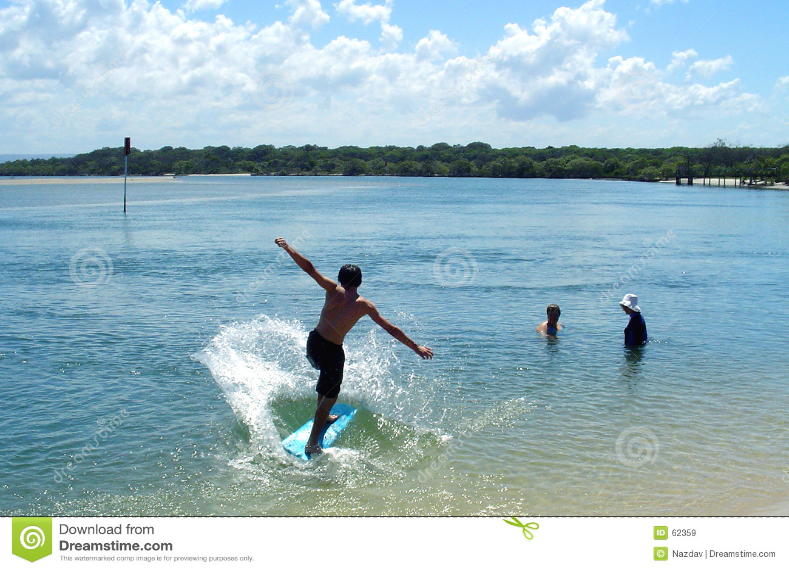 Het Surfen van de jongen