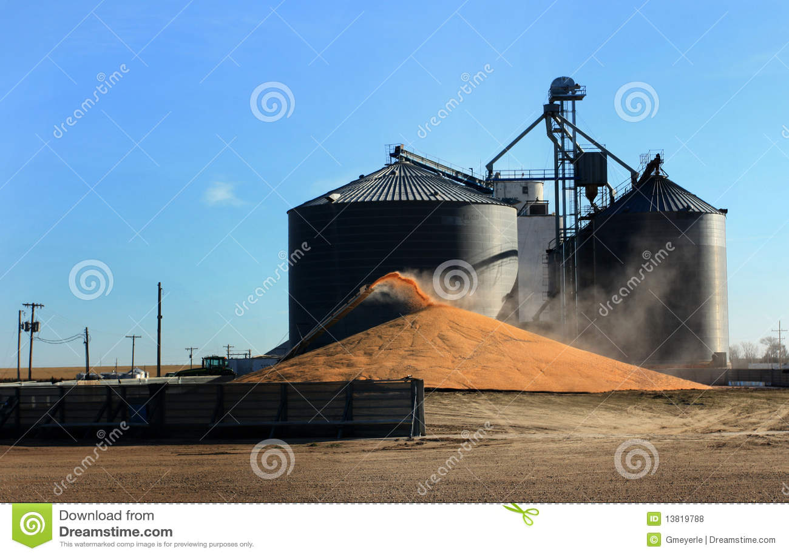 Het Surplus van het graan