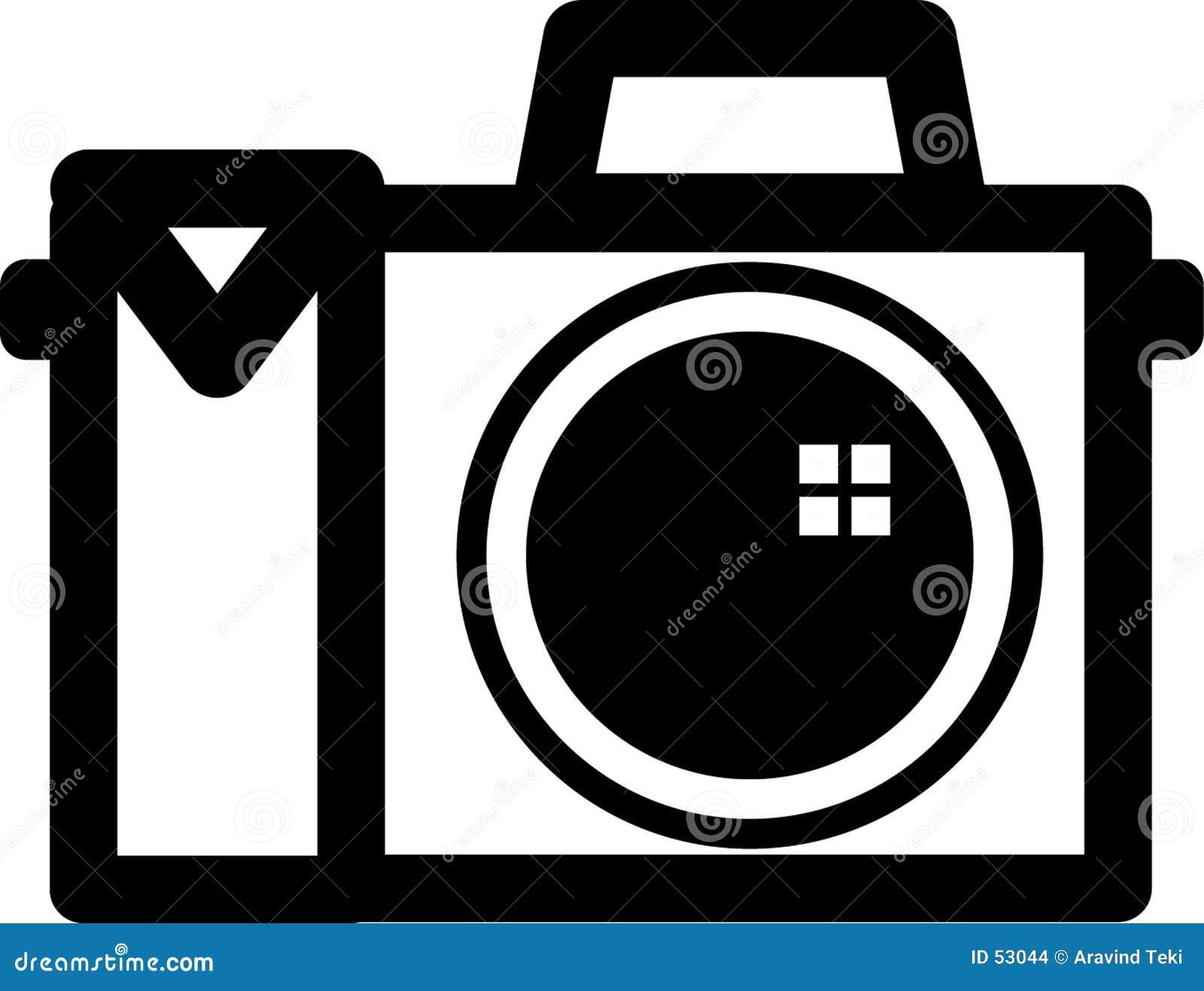 Het symbool van de camera