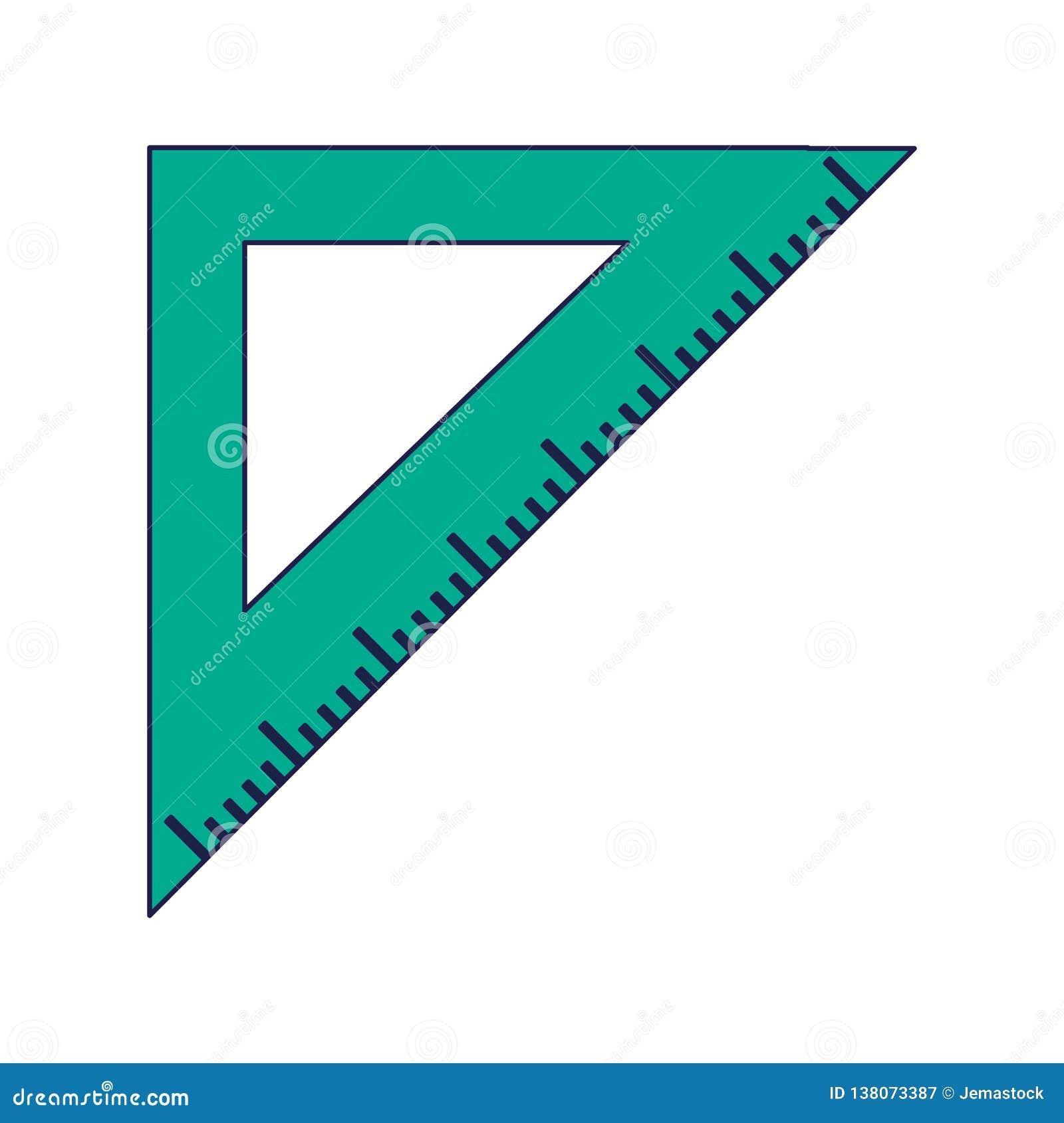 Het symbool van de driehoeksheerser