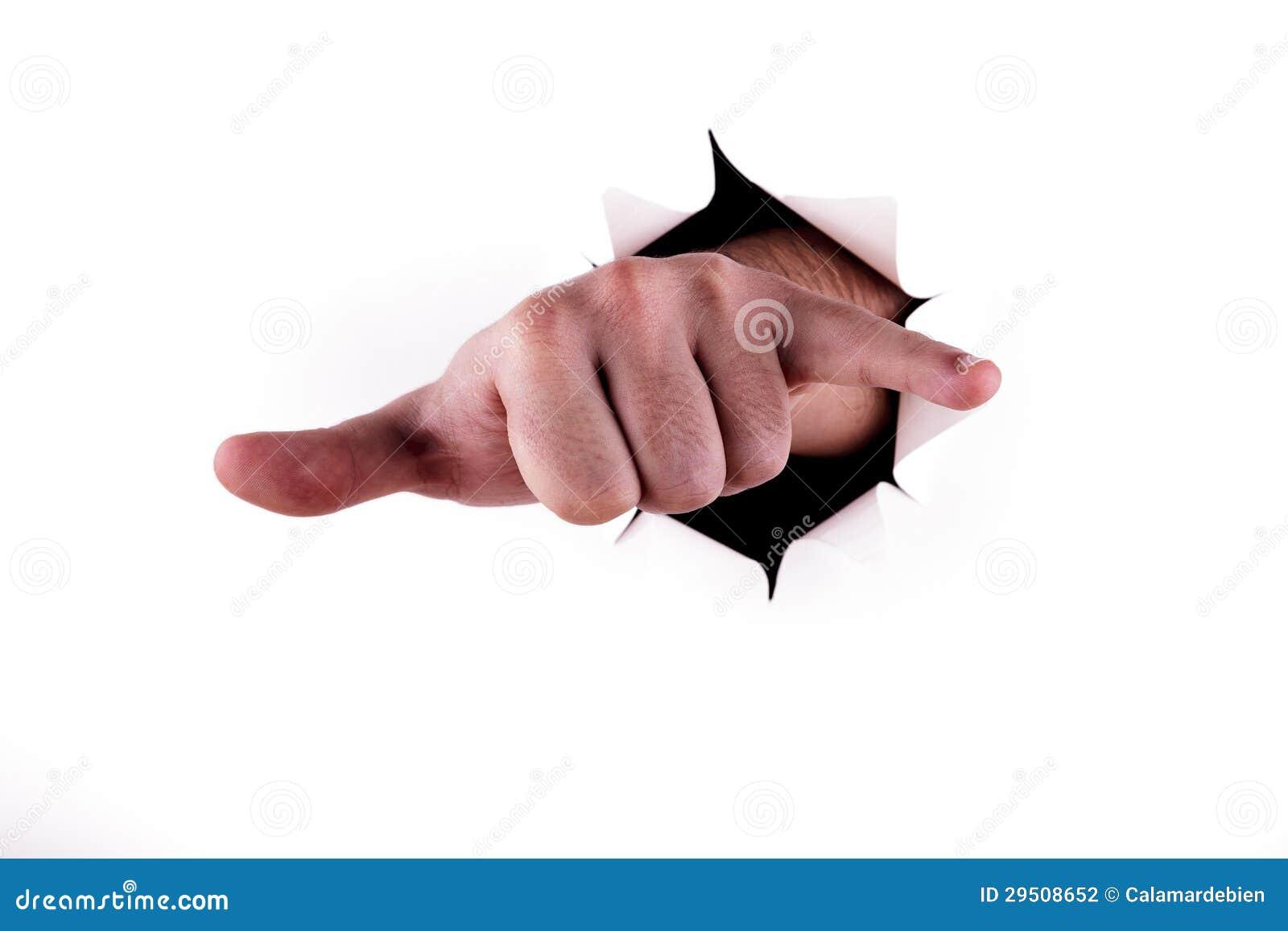 Het symbool van de hand