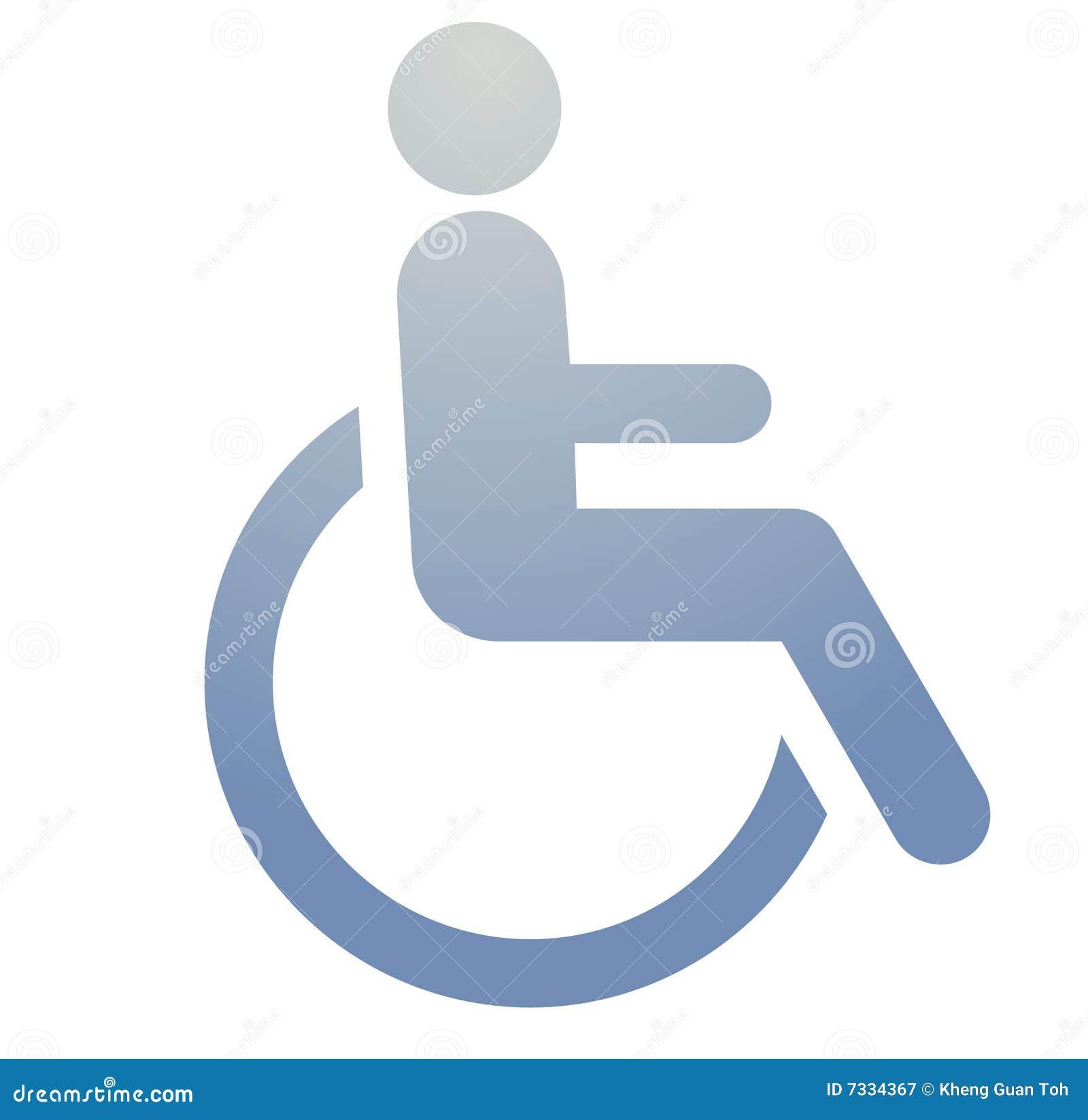 Het symbool van de handicap vector illustratie afbeelding 7334367 - Stoel aangewezen ...