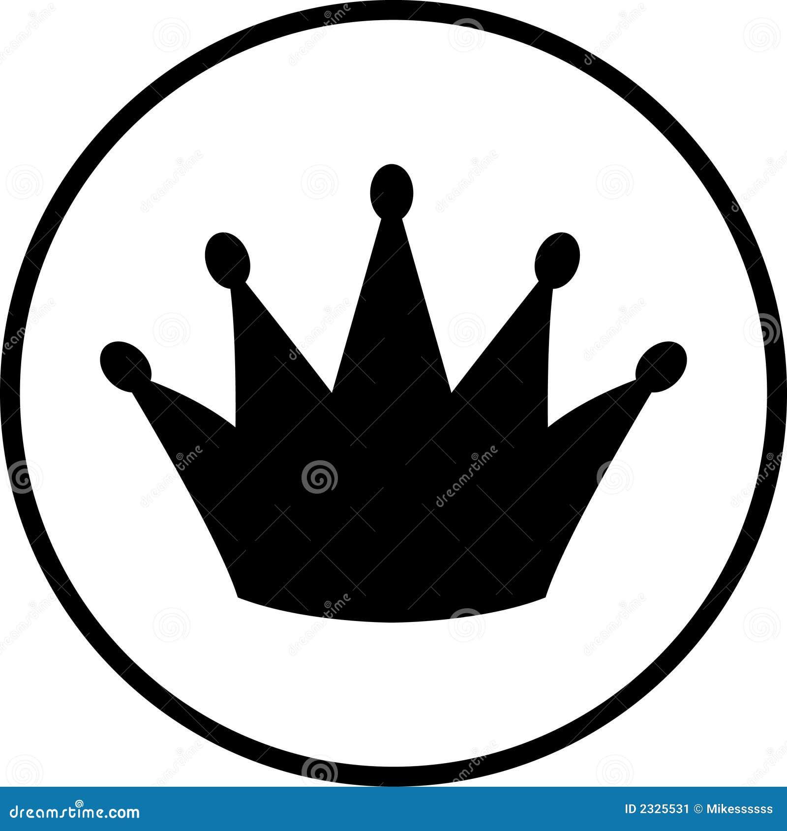 Het symbool van de kroon