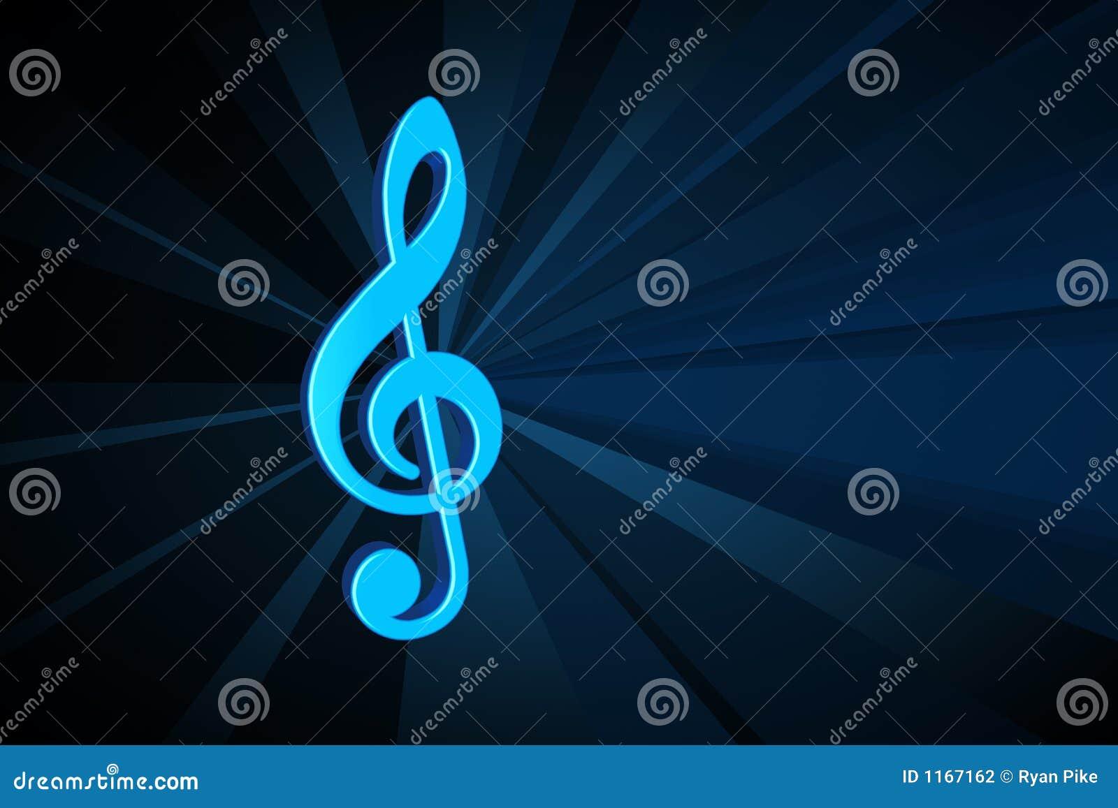 Het symbool van de muziek
