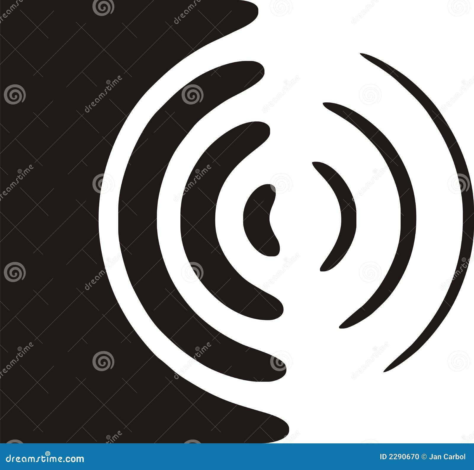 Het symbool van de spreker