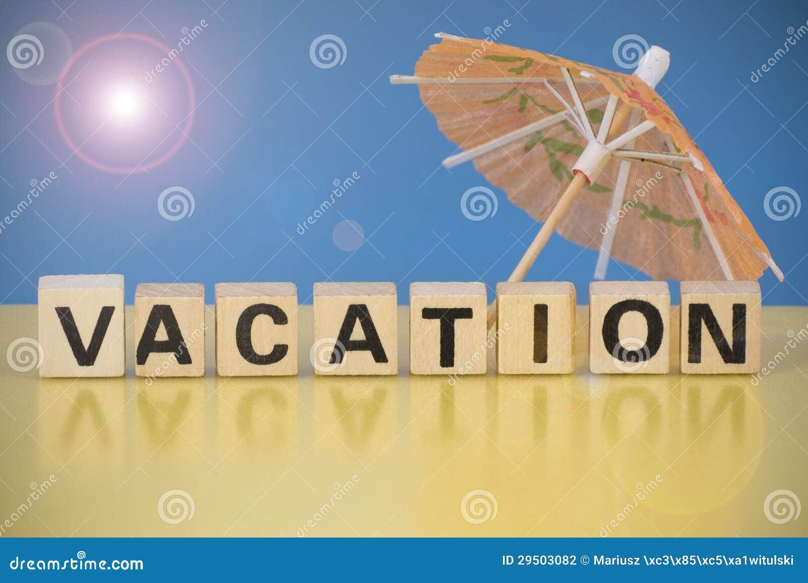 Het symbool van de vakantie