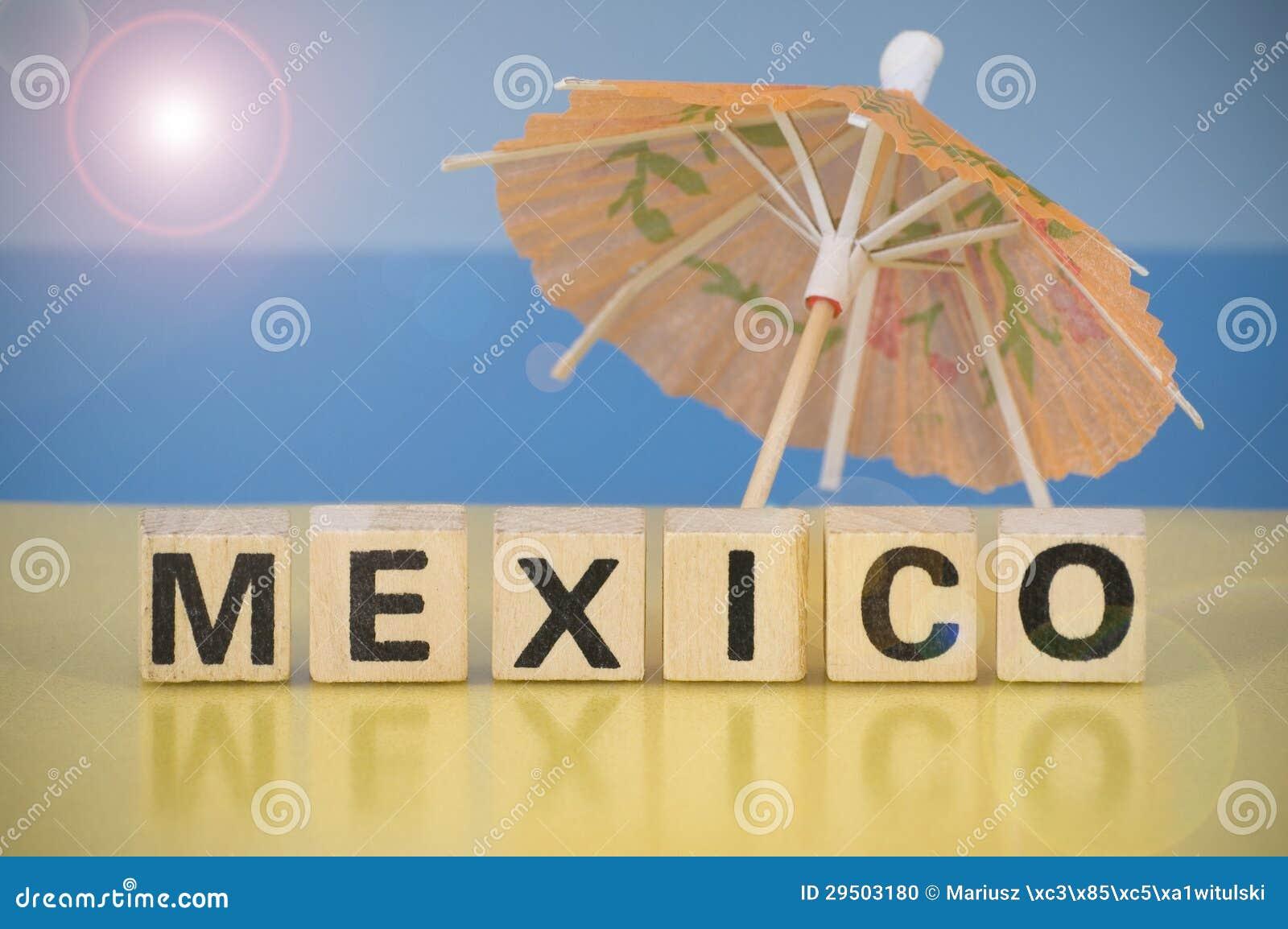 Het symbool van de vakantie - Mexico
