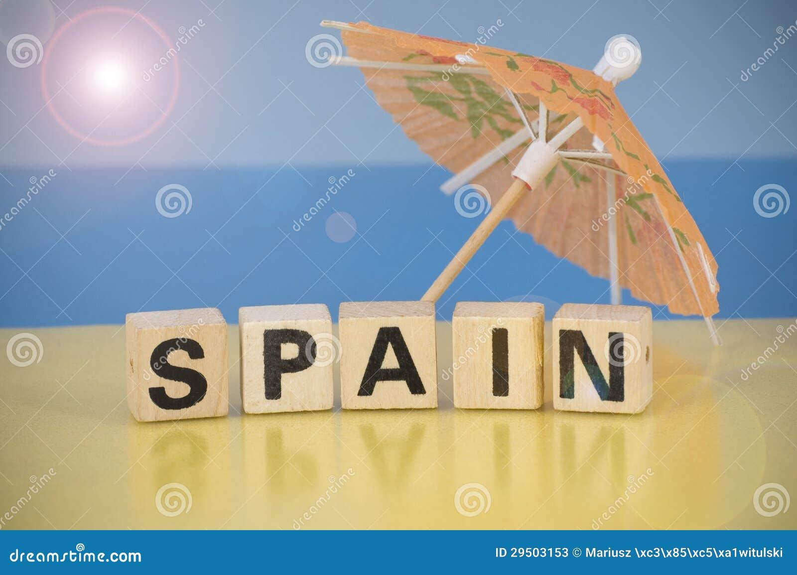 Het symbool van de vakantie - Spanje