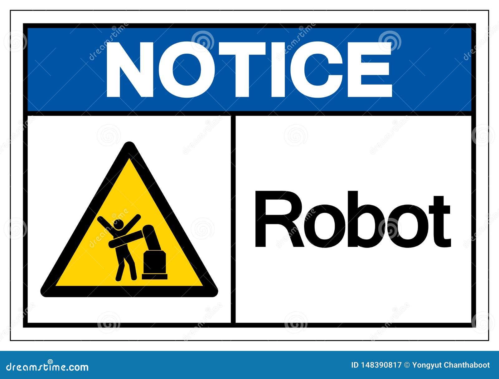 Het het Symboolteken van de berichtrobot, Vectorillustratie, isoleert op Wit Etiket Als achtergrond EPS10