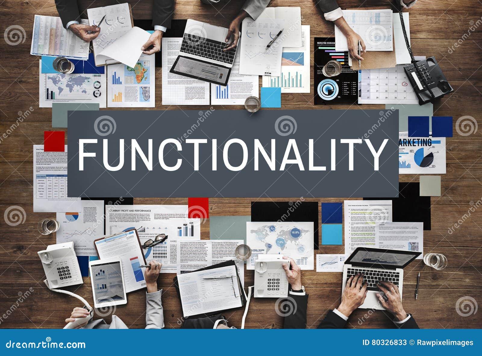 Het Systeem Praktisch Concept van de functionaliteitdigitale computer