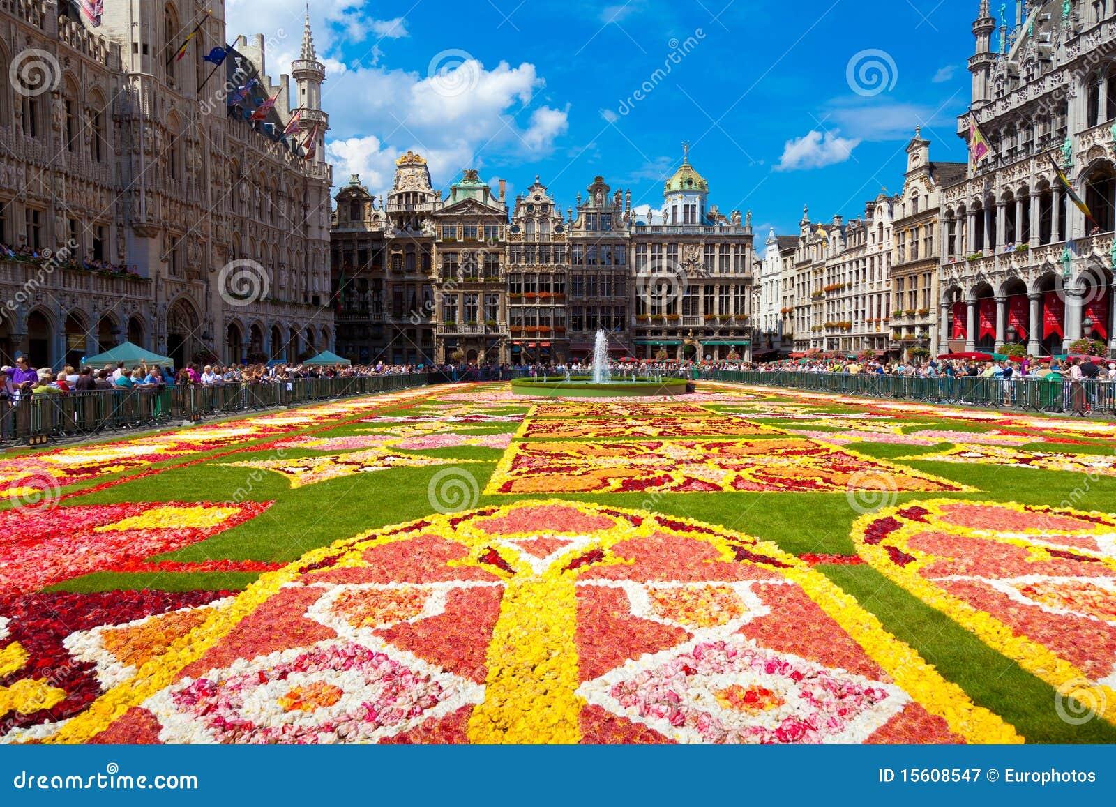 Het Tapijt 2010, Brussel van de bloem.