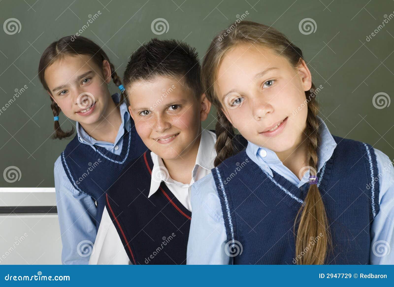 Het team van de school