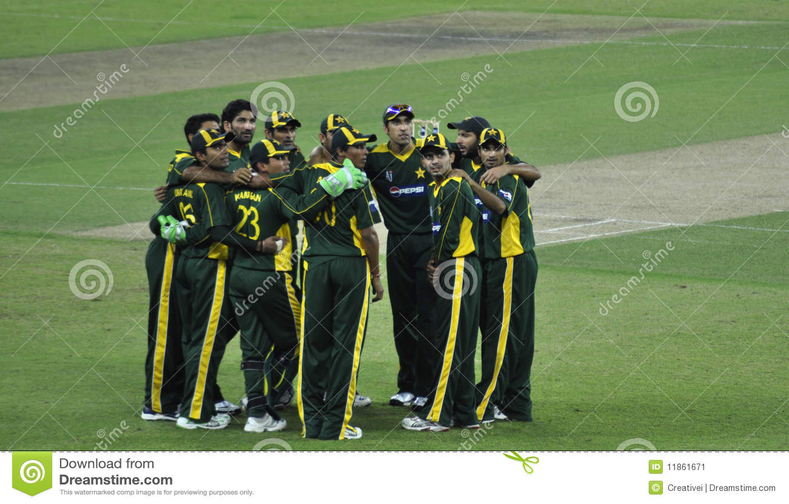 Het Team van de Veenmol van Pakistan