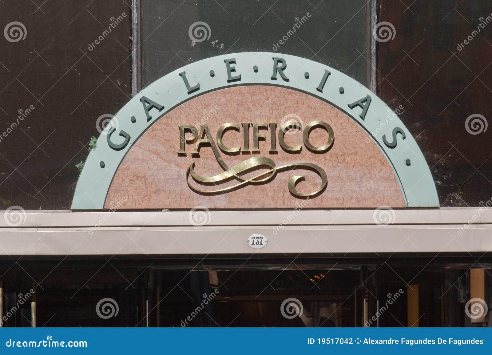 Het Teken Buenos aires van Pacifico van Galerias