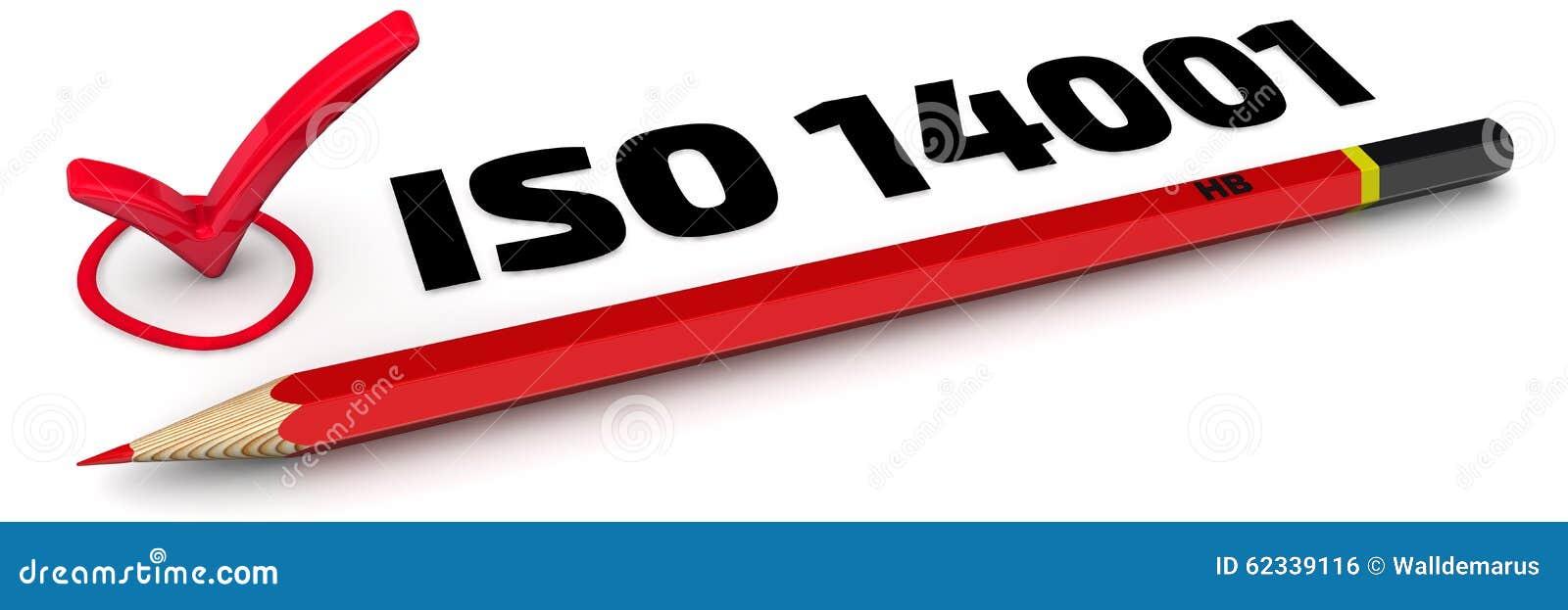 Het teken ISO 14001