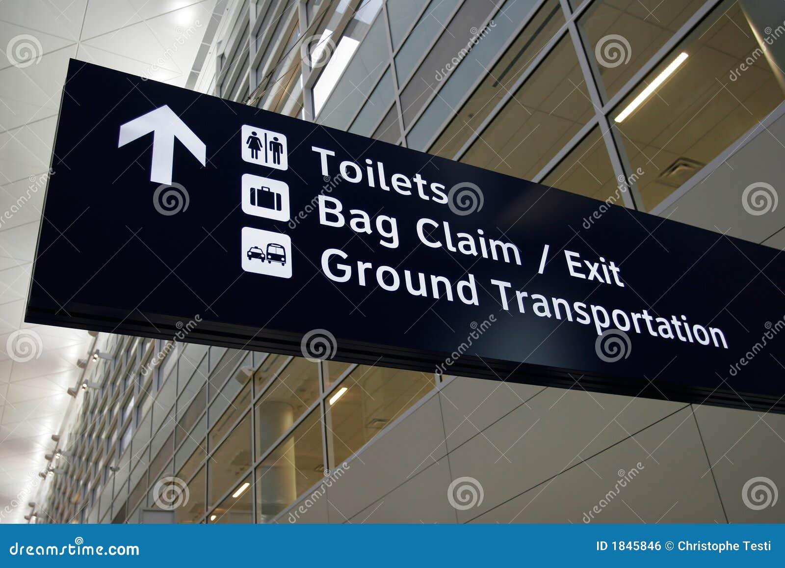 Het Teken van de luchthaven