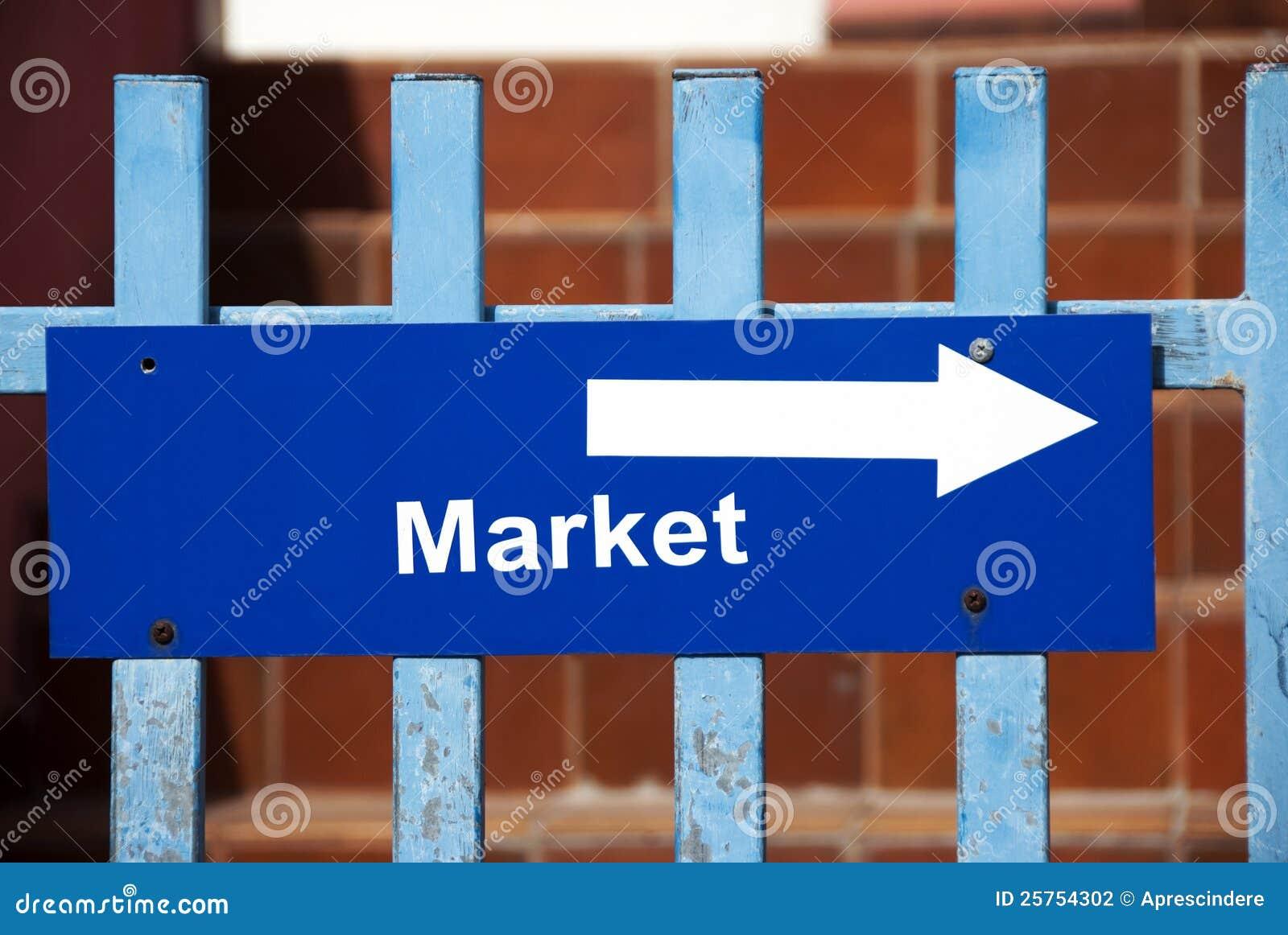 Het teken van de markt