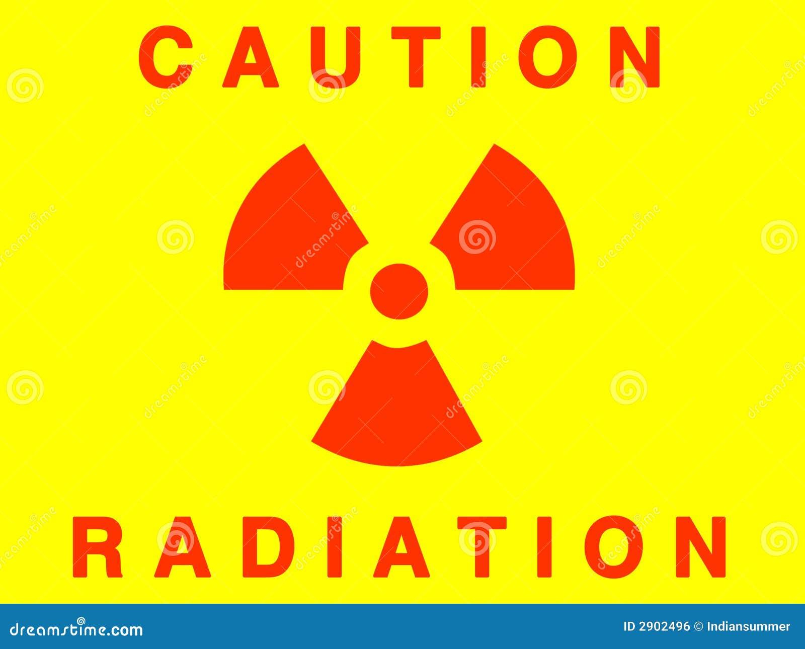 Het teken van de straling