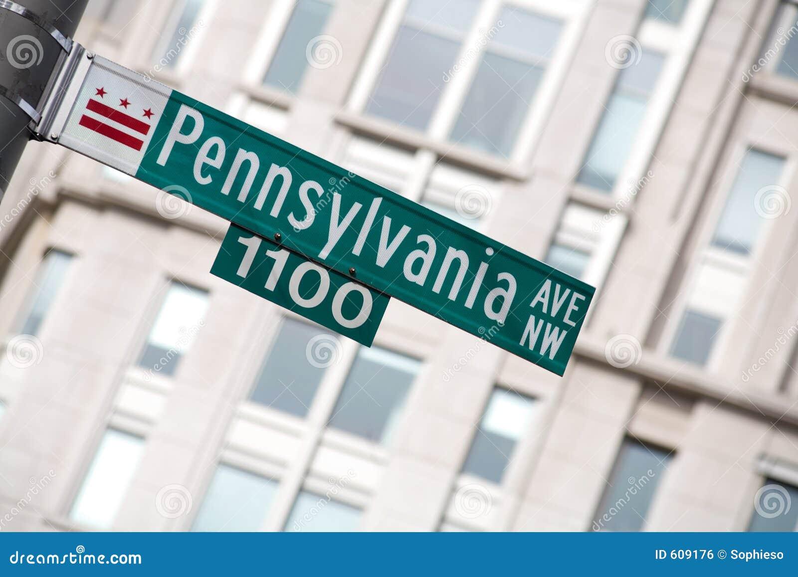 Het Teken van de Weg van Pennsylvania