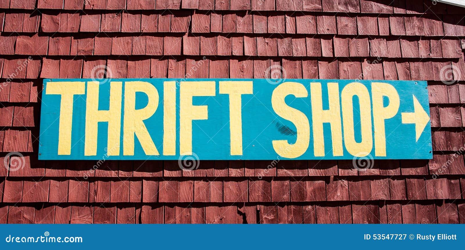 Het teken van de zuinigheidswinkel